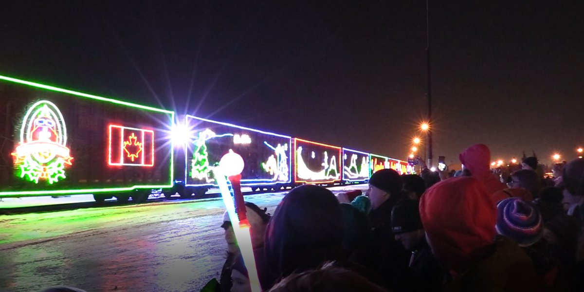 CP Holiday Train Excitement!